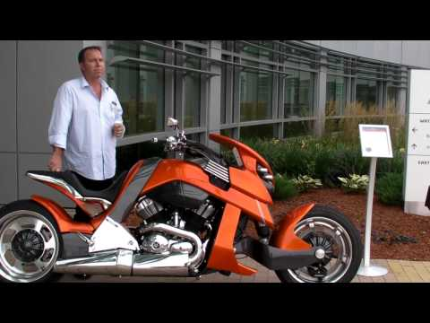 SolidWorks 2013 Media Event - An Interview with Christian Travert of Travertson Motorcycles