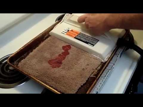 Remove Candle Wax With A Wagner Steamer