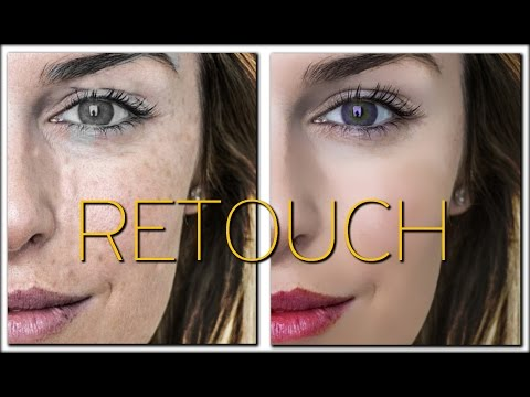 Face Retouching - How to Retouch - Photoshop CC (simple method)