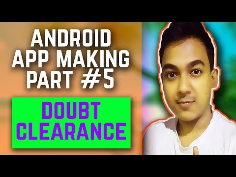 Android App Making Part #5 |How To Change App Icon, Scroll Page, App Name,| Doubt Clearance