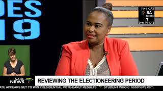 Reviewing the electioneering period
