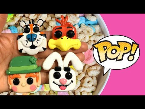 FUNKO POP! CEREAL AD ICONS! Polymer Clay Tutorial