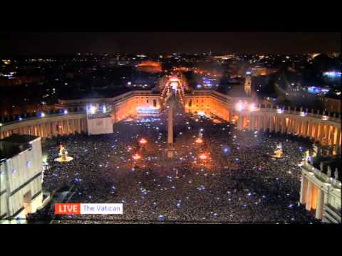 White smoke indicates new Pope