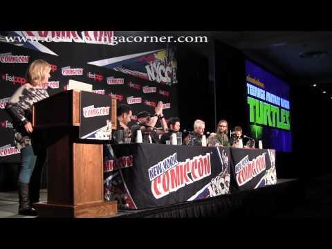 New York City Comic Con 2014: TMNT Panel
