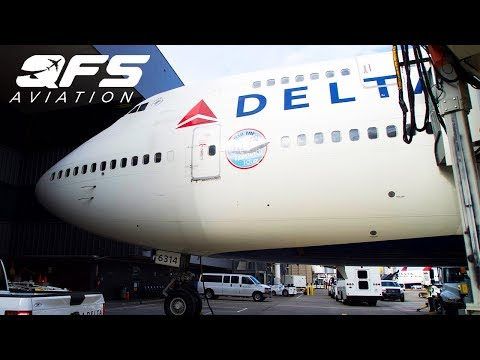 DELTA 747 RETIREMENT FLIGHT!!!