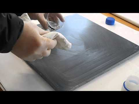 how to polishing a marble surface became opaque due wear and age