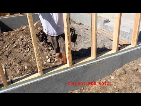Provo General Contractor Framing a Detached Garage