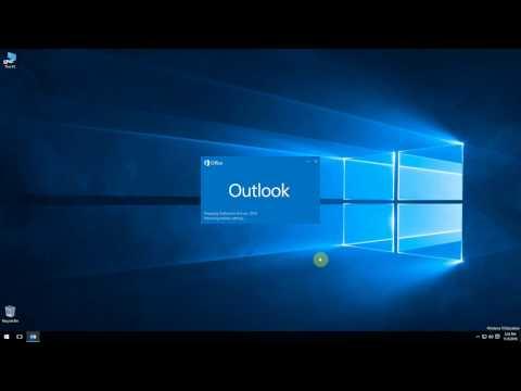 Nastavenie MS Outlook 2016