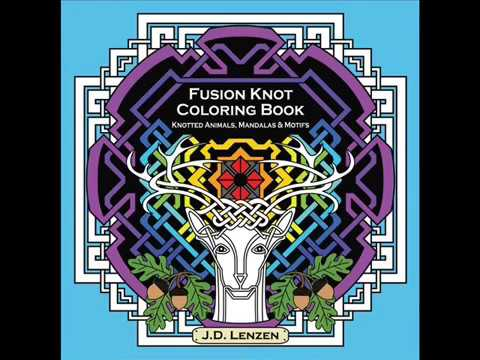 Fusion Knot Coloring Book (Book Preview) - Now Available for Pre-Order!
