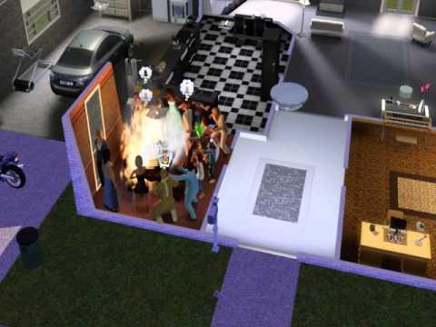 Sims 3 Birthday Cake Fire