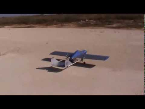 scratch build model airplane created from scrap materials