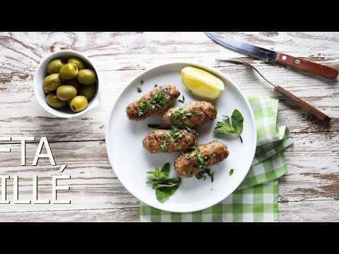 [FR] Kefta Grillée / Grilled Kefta - CookingWithAlia - Episode 664