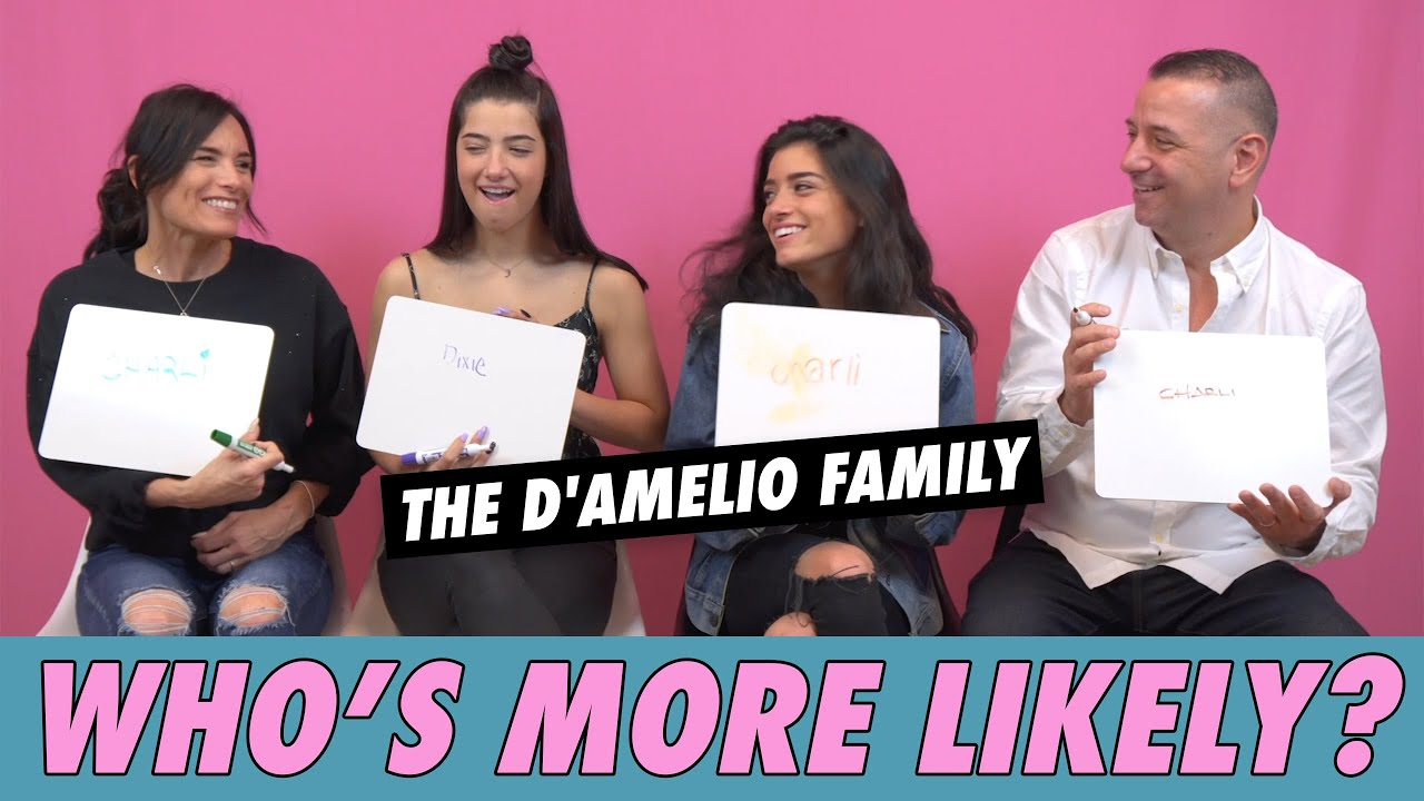 The D'Amelio Family - Who's More Likely?