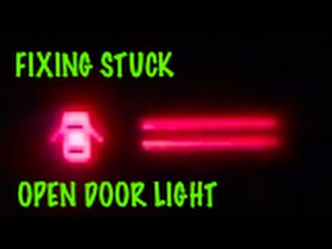 How to fix Open Door / Ajar / Dome light that stays on (1987 Corolla AE86)