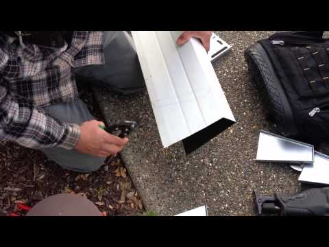 General Maintenance Company / Gutter Miters Step 3