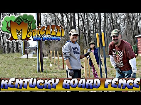Over 200 foot Cheap Kentucky board Farm Fence DIY for under $700