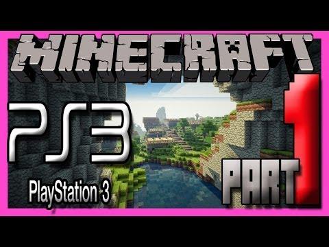 Minecraft Ps3 Edition Multiplayer Gameplay Part 1 - STARTING FRESH