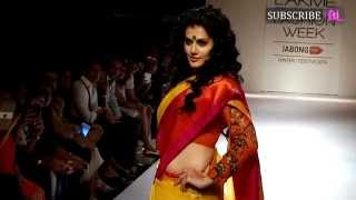 Tapsee Pannu walks the Ramp at Final Day of LFW