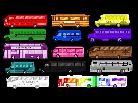 Xxx Mp4 Bus Colors Street Vehicles The Wheels On The Bus The Kids 39 Picture Show Fun Amp Educational 3gp Sex
