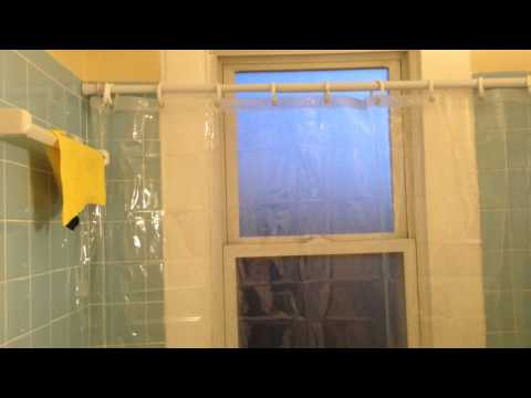 Prevent mold and rot in a bathroom window in a old house