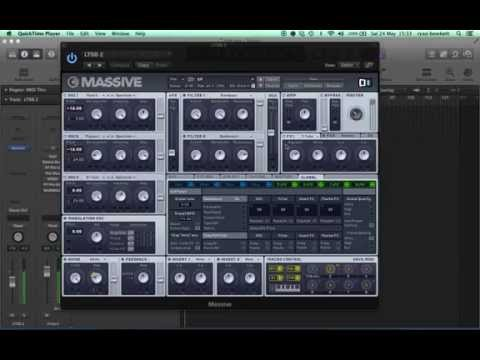 Sub Focus, Let The Story Begin, rising synth patch in Massive.
