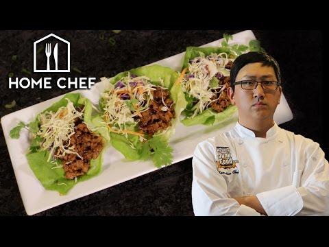 DIY Thai Pork Lettuce Wraps