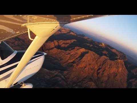 Cessna 182 Turbo Flight over Big Bend National Park || KMRF