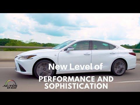 2019 Lexus ES 1st. look on the road around Nashville