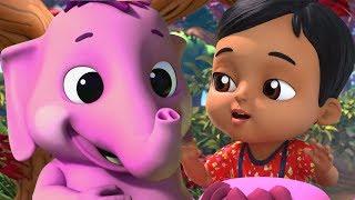 Ek Mota Hathi Sheher Ko Chala | Rhymes in Hindi | एक मोटा हाथी | Hindi Rhymes | Baby Songs Hindi