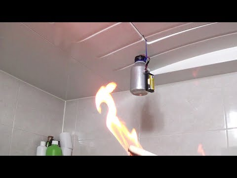 How to make a Fire Alarm System using an Aluminum Can and Computer Mouse