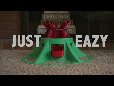 EAZY TREEZY - The Drop-in Christmas Tree Stand
