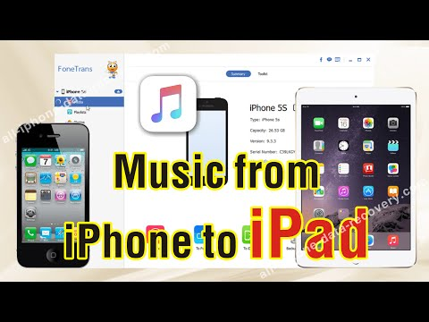 How to Transfer Music from iPhone to iPad Air 3/iPad Mini/iPad Pro