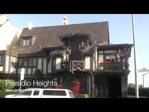 Presidio Heights Neighborhood homes tour in San Francisco, CA