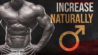 Natural Testosterone Booster - 3 Most Powerful