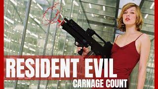 Resident Evil (2002) Carnage Count