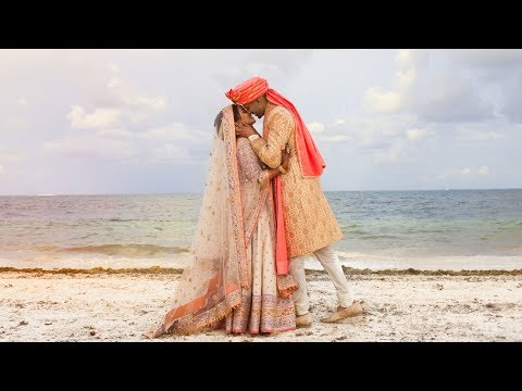 OUR WEDDING VIDEO 💍INDIAN DESTINATION WEDDING - MEXICO