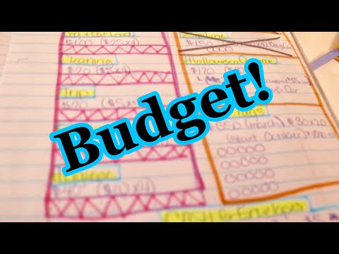 VLOGTOBER: Our Budget and How We Got Caught Up on Bills