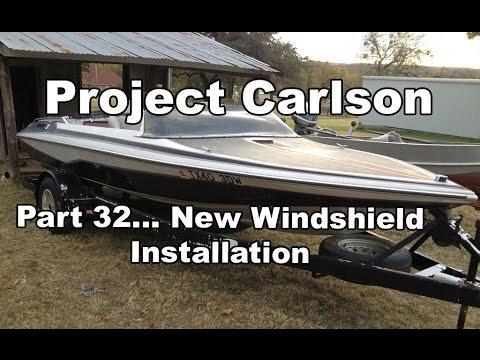 Project Carlson CVX-18- UPDplastics.com Windshield installation