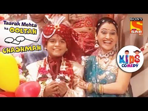 Tapu's Wedding day | Tapu Sena Special | Taarak Mehta Ka Ooltah Chashmah