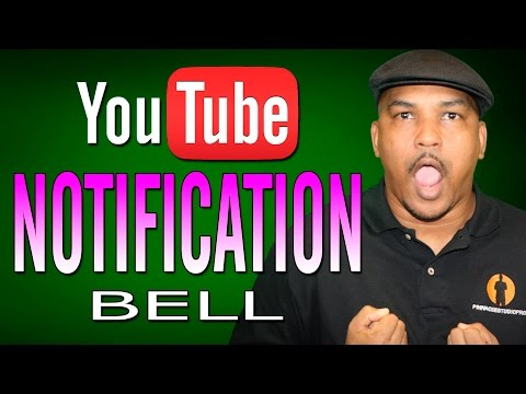 What is that Bell? | YouTube Notifications Update & Fix - 2017