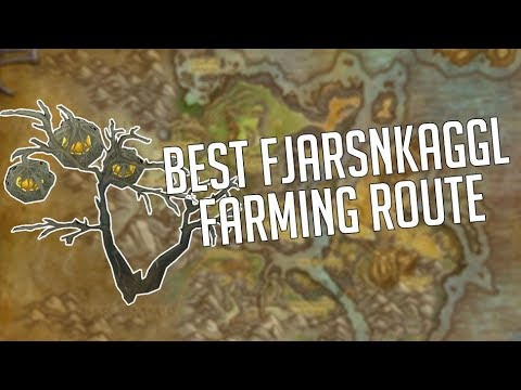 The BEST Fjarnskaggl Farming Path as of Patch 7.3.5