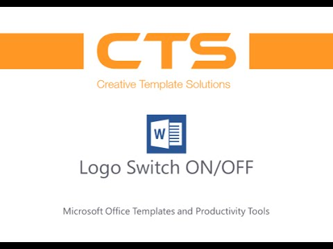 CTS Logo Switch Tool for Word Letterhead Templates