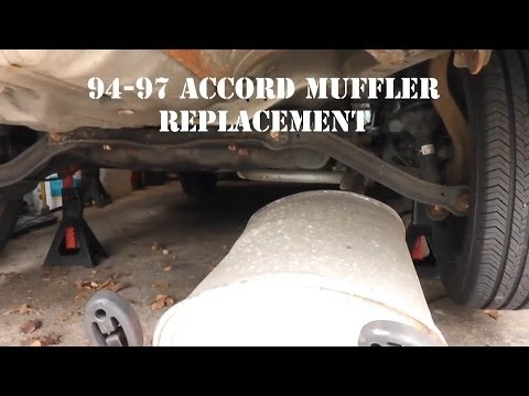 94-97 Honda Accord Muffler Replacement