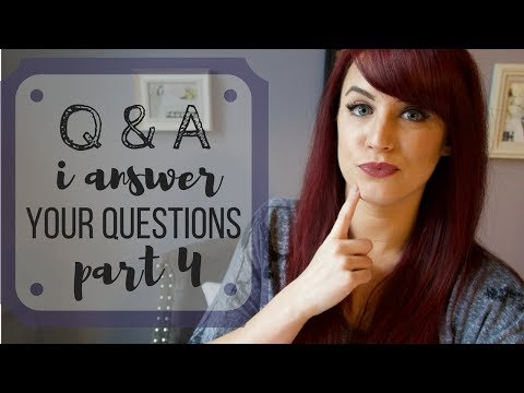 Q&A | Episode 4 | I Answer Your Writing & Personal Questions