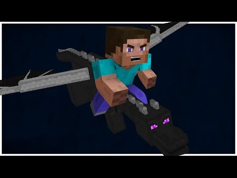RIDE THE ENDER DRAGON WITHOUT MODS!