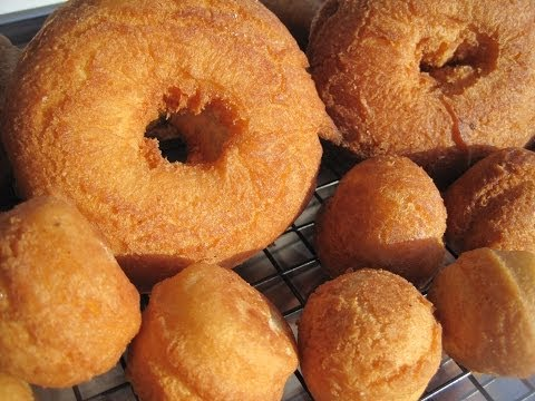 OLD FASHIONED CAKE DOUGHNUTS - How to make CAKE DONUTS Recipe