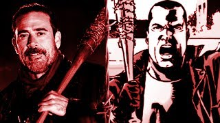 8 Differences Between The Show And Comic the walking dead warning  spoilers
