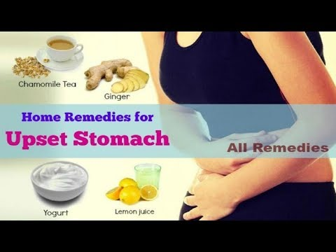 Stomach Aches: 5 Best Home Remedies For Upset Stomach.