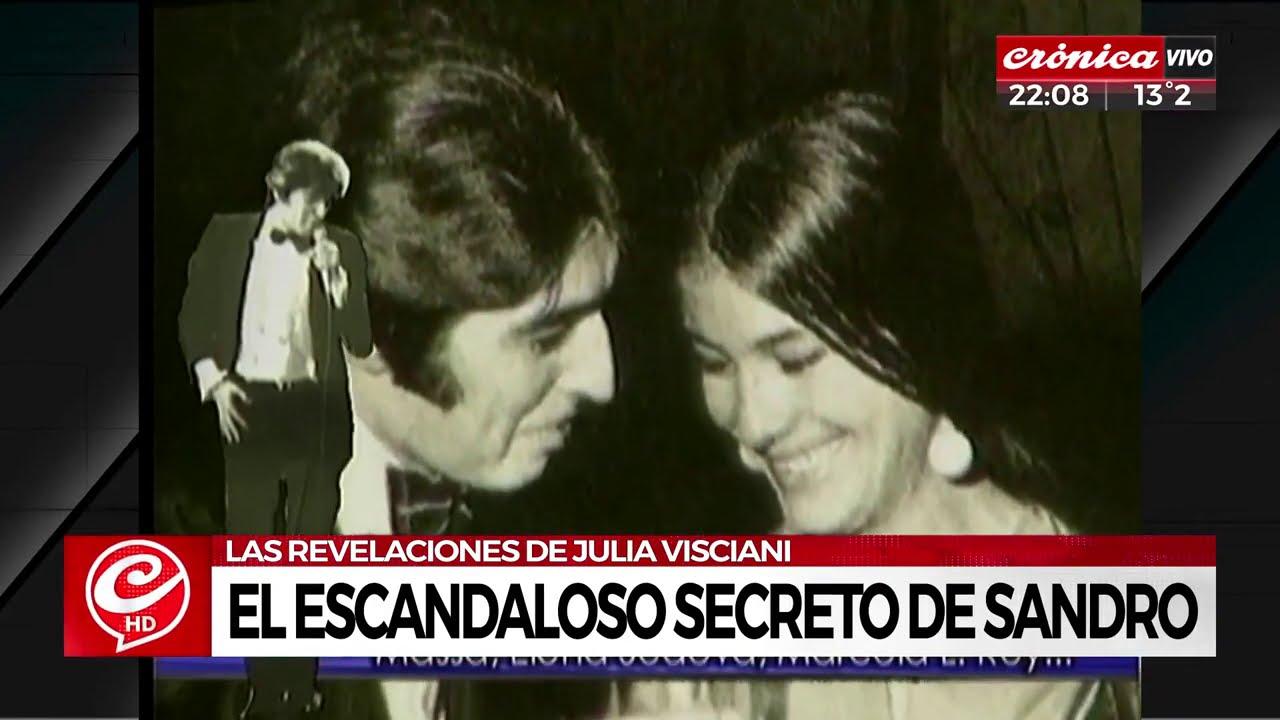 El escandaloso secreto de Sandro