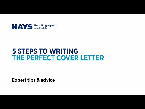 5 steps to creating the perfect cover letter